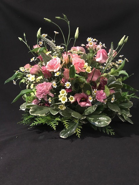 Posy pink and cream